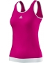 Adidas Women's Galaxy Tank (Vivid Berry/ White) - Adidas Women's Apparel Tennis Apparel