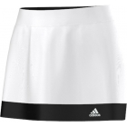 Adidas Women's Galaxy Skort (White/ Black) - Adidas Women's Apparel Tennis Apparel
