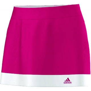 Adidas Women's Galaxy Skort (Vivid Berry/ White)