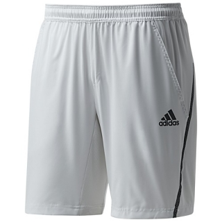 Adidas Men's Barricade Shorts (White)