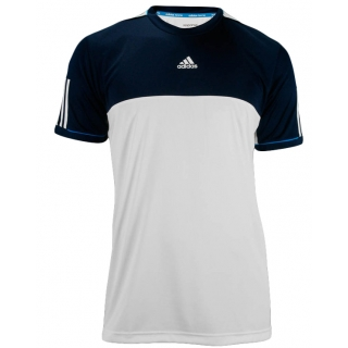 Adidas Men's Response Tee (White/ Collegiate Navy)