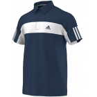 Adidas Men's Galaxy Polo (Navy/ White) - Men's Polo Shirts