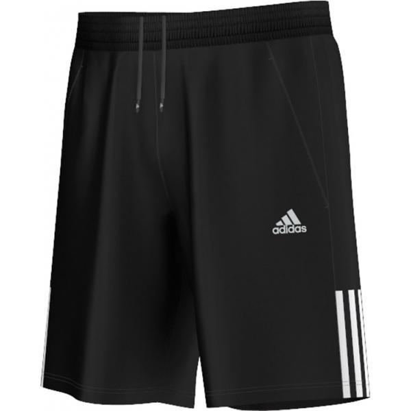 Head Tennis Bag >> Adidas Men's Galaxy Shorts (Black/ White) - Do It Tennis