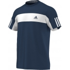 Adidas Men's Galaxy Crew Tee (Navy/ White) - Men's Adidas Apparel