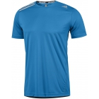Adidas Men's ClimaChill Tee (Solar Blue) - Men's Tops T-Shirts & Crew Necks Tennis Apparel