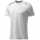 Adidas Men's ClimaChill Tee (White) - Adidas Men's Apparel Tennis Apparel