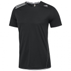 Adidas Men's ClimaChill Tee (Black) - Adidas Men's Apparel Tennis Apparel
