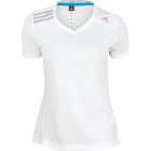 Adidas Women's ClimaChill Tee (White) - Discount Tennis Apparel