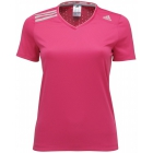 Adidas Women's ClimaChill Tee (Pink) - Women's Tops Tennis Apparel