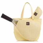 Court Couture Savanna Perforated Dandelion - Tennis Tote Bags