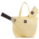 Court Couture Savanna Perforated Dandelion - Designer Tennis Bags