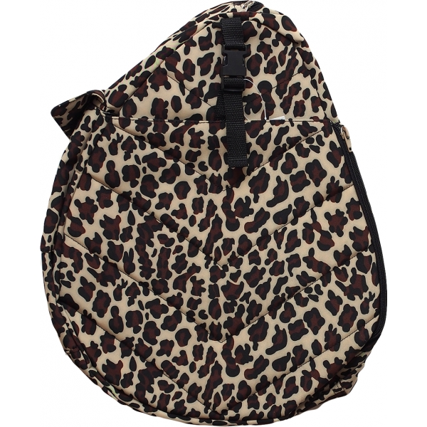 Jet Dark Cheetah Junior Sling Tennis Bag
