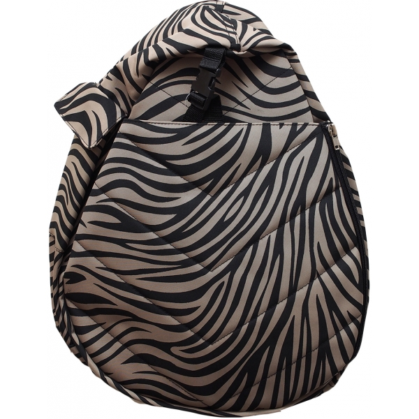 Jet Dark Zebra Junior Two Strap Backpack