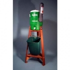 Deluxe Redwood Water Cooler & Stand Assembly - Tennis Court Equipment