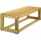 Dent-Saver Bench Indoor #3240 - Shop the Best Selection of Tennis Court & Cabana Benches