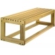 Durawood Dent-Saver 4' Bench  - Shop the Best Selection of Tennis Court Equipment
