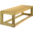 Dent-Saver Bench Outdoor #3229 - Tennis Benches