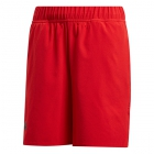 Adidas Boys' Barricade Tennis Shorts (Scarlet) - Adidas Junior Tennis