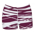 DUC Dive 2.5 Women's Compression Shorts (Maroon) - DUC Women's Apparel Tennis Apparel