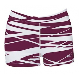 DUC Dive 2.5 Women's Compression Shorts (Maroon)