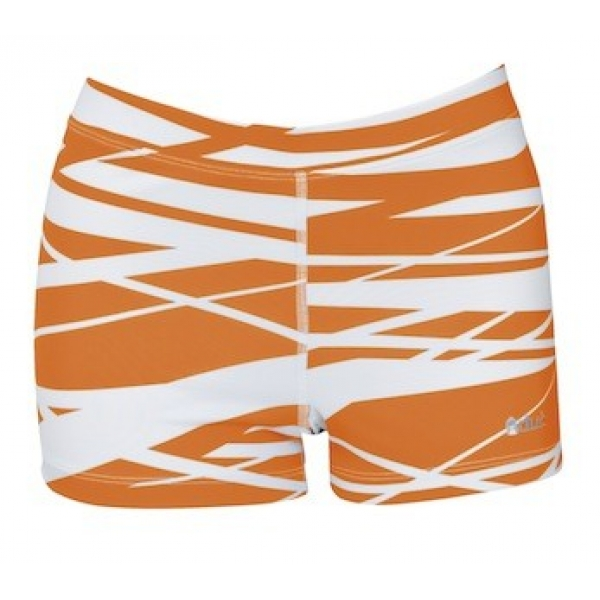 DUC Dive 2.5 Women's Compression Shorts (Orange)