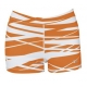 DUC Dive 2.5 Women's Compression Shorts (Orange) [SALE] - Discount Tennis Apparel