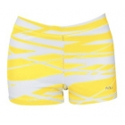 DUC Dive 2.5 Women's Compression Shorts (Gold) - DUC Women's Team Tennis Shorties