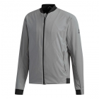 Adidas Men's Barricade Tennis Jacket (Grey) - Adidas Men's Tennis Jackets, Pants and Sweats
