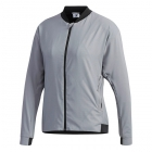 Adidas Women's Barricade Tennis Jacket (Grey) - Clearance Sale: Discount Prices on Women's Tennis Apparel
