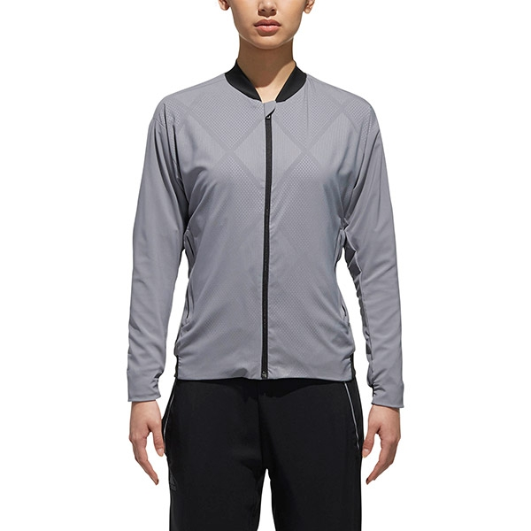 Adidas Women's Barricade Tennis Jacket (Grey)