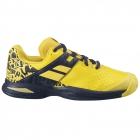 Babolat Junior Propulse All Court Tennis Shoes (Lemon Chrome) - Babolat Junior Tennis