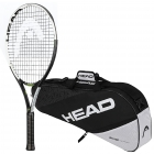 Head Junior IG Speed Tennis Racquet Bundled with Head Elite 3R Pro Tennis Bag -