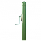 Douglas Premier Round Green 3 Inch o.d. Internal Wind Tennis Post - Douglas Tennis Equipment