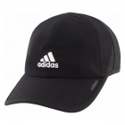 Adidas Men's Adizero II Cap (Black/White) - Tennis Hats
