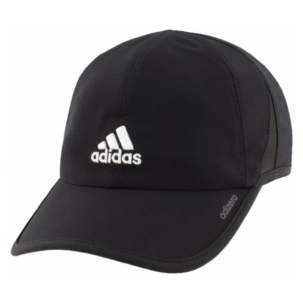 Adidas Men's Adizero II Cap (Black/White)