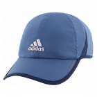 Adidas Men's Adizero II Cap (Core Blue/Collegiate Navy/Clear Grey) - Adidas Tennis Caps & Visors