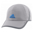 Adidas Men's Adizero II Cap (Grey/Onix/Shock Blue) - Tennis Hats