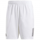 Adidas Men's Club 3 Stripe Tennis Shorts (White) -