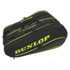 Dunlop SX Performance 12 Racket Tennis Bag (Black/Yellow) -