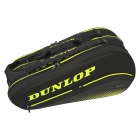 Dunlop SX Performance 8 Racket Tennis Bag (Black/Yellow) -