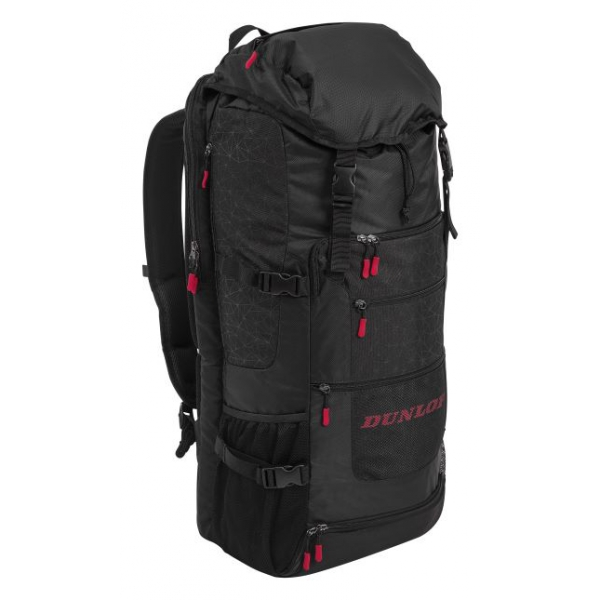Dunlop SX Casual Sporty Long Tennis Backpack (Black/Red)