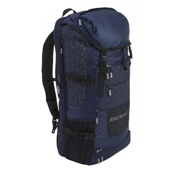 Dunlop SX Casual Sporty Long Tennis Backpack (Navy/Gray)