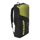 Dunlop SX Club 2 Racket Long Tennis Backpack (Black/Yellow) -