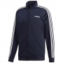 Adidas Men's Essentials 3-Stripes Tricot Tennis Jacket (Legend Ink/White)