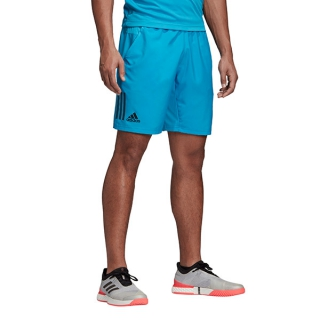 085fee5a19c3 Adidas Men's Club 3-Stripe Tennis Shorts (Shock Cyan) - Do It Tennis