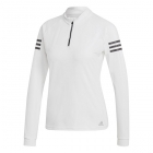 Adidas Women's Club Midlayer Long-Sleeve Tennis Top (White) - Women's Jackets