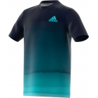 Adidas Boys' Parley Tennis Tee (Legend Ink) - Adidas Junior's Tennis Apparel