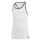 Adidas Girls' Club Tennis Tank (White) - Junior Equipment Brands