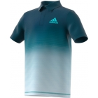 Adidas Boys' Parley Tennis Polo (Petrol Night) - Adidas Junior's Tennis Apparel