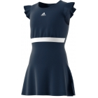 Adidas Girls' Ribbon Tennis Dress (Collegiate Navy) - Junior 10 & Under Tennis Equipment for Kids